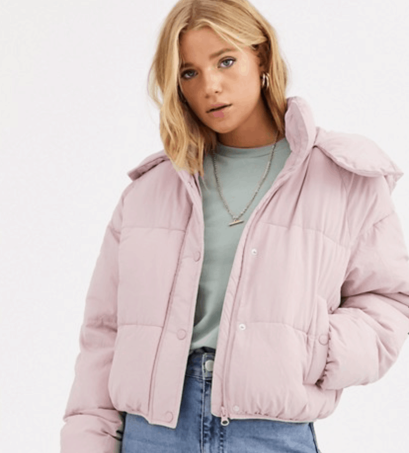 cropped puffer jacket winter 2019 College Fashion