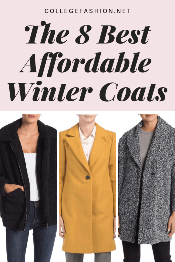 The 8 best affordable winter coats under