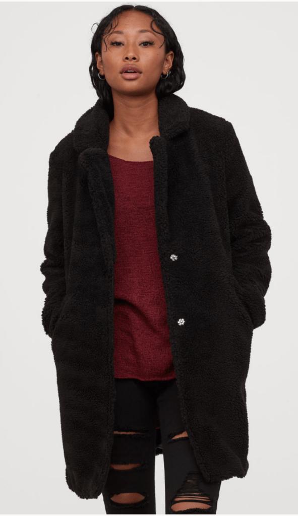 teddy winter coat 2019 College Fashion