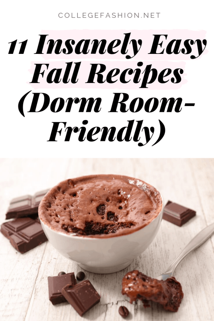 11 insanely easy fall recipes you can make in a microwave