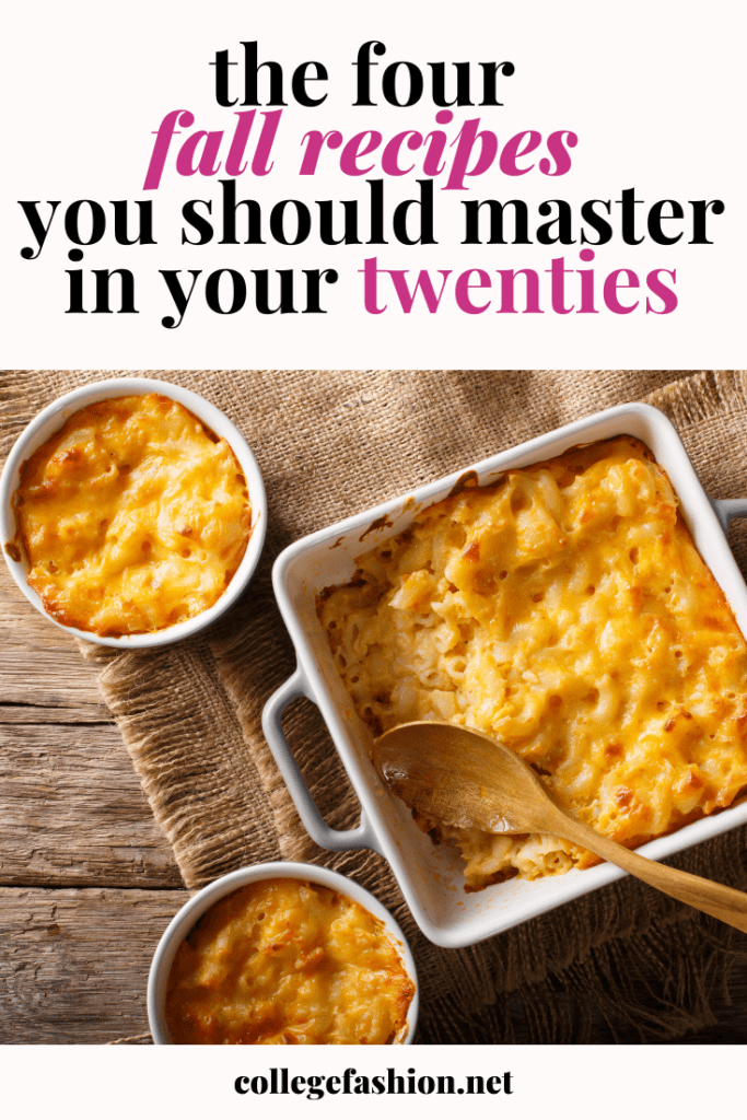 The cozy fall recipes everyone should master in their twenties
