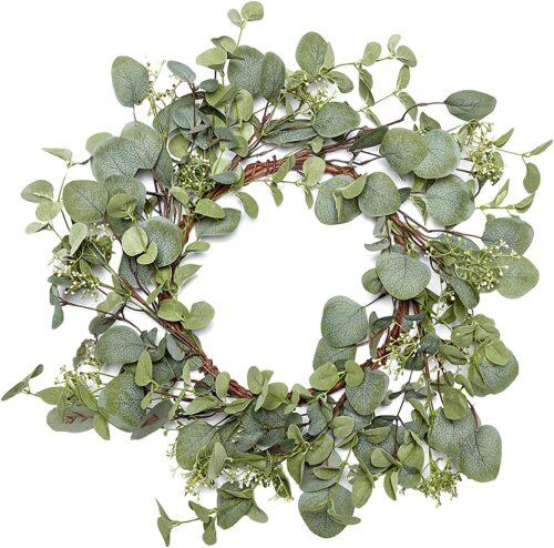 Fall eucalyptus wreath from Amazon