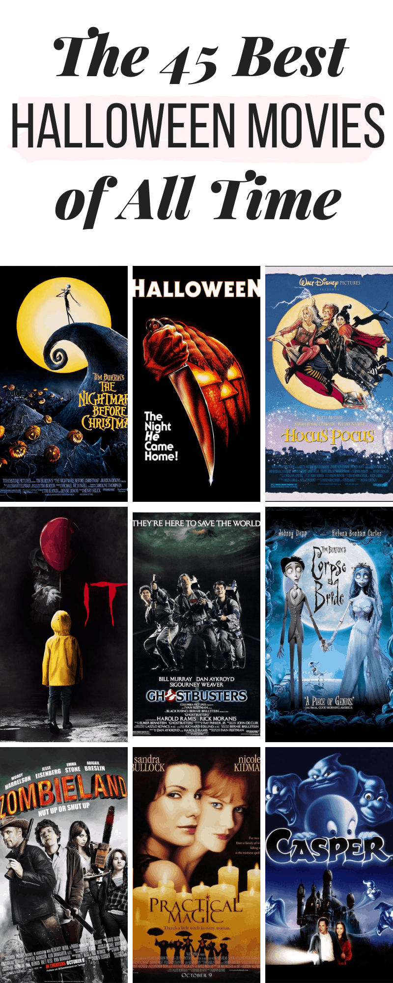 The 45 Best Halloween Movies Ever College Fashion