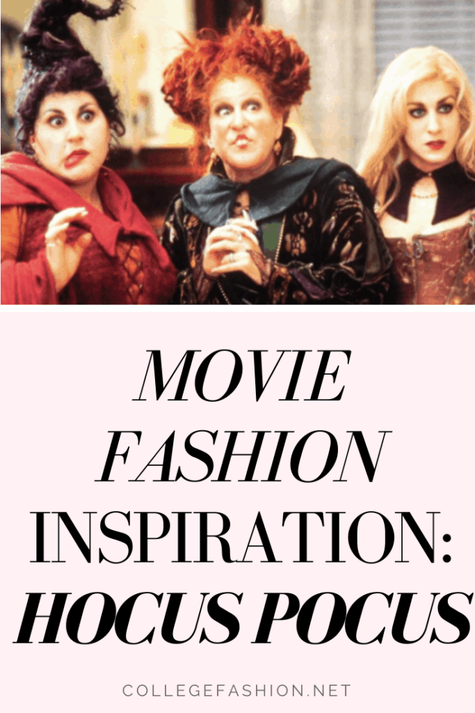 Hocus pocus fashion - guide to outfits inspired by the movie hocus pocus