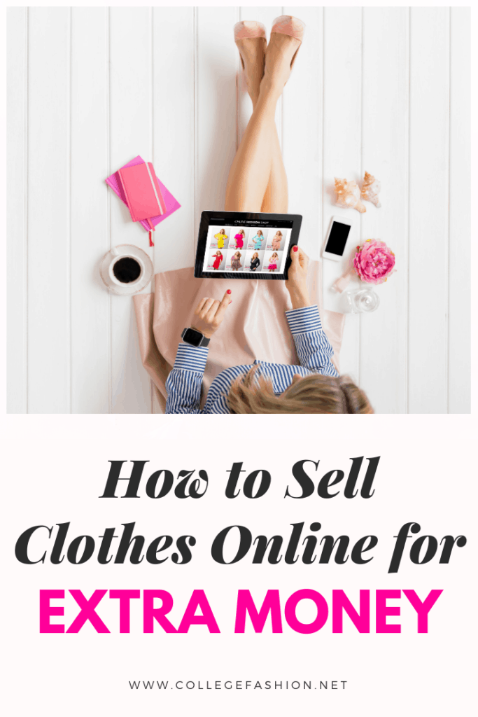 How to sell clothes online - the ultimate guide to how to sell clothes on Poshmark, Instagram, ebay, and Depop for extra money