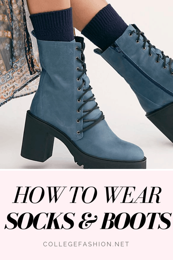 How to wear socks and boots - guide to wearing socks and boots together