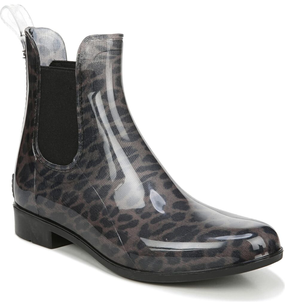Seven Cute Pairs of Rain Boots to Jazz Up Your Rainy Day Look: Sam Edelman Tinsley Rain Boot in dark leopard print
