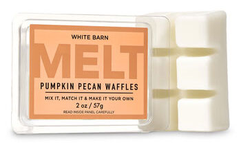 B&BW pumpkin pecan waffles melt