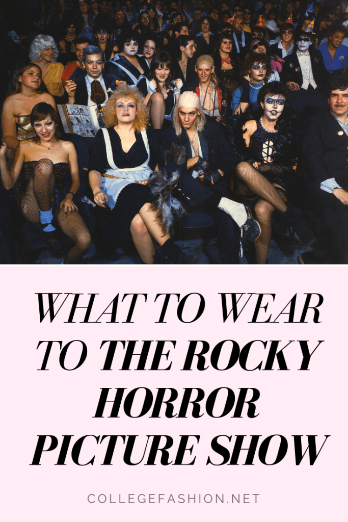 Fashion inspired by the Rocky Horror Picture Show: Outfit ideas and costumes for Rocky Horror