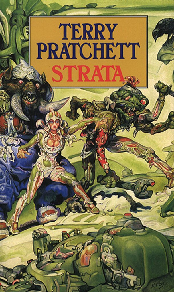 Best science fiction books: Strata by Sir Terry Pratchett