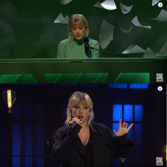 Taylor Swift on SNL 2019