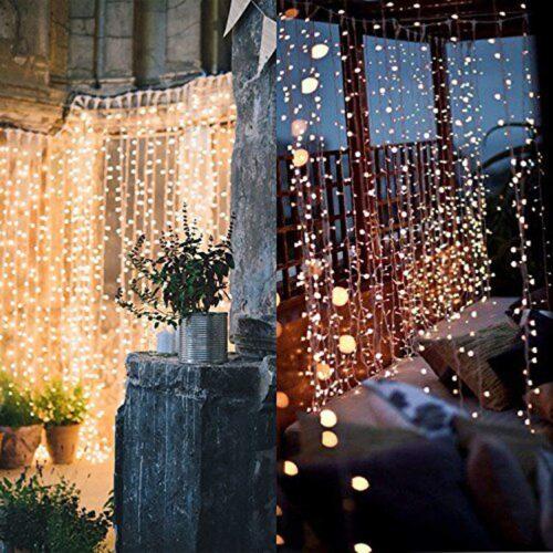 Twinkle lights - best fall dorm decor ideas