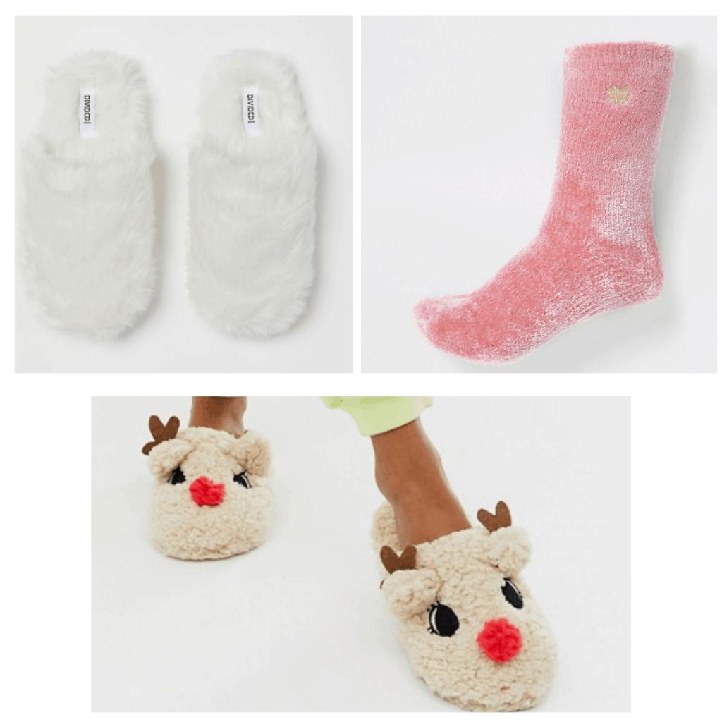 cf winter loungewear ideas slippers