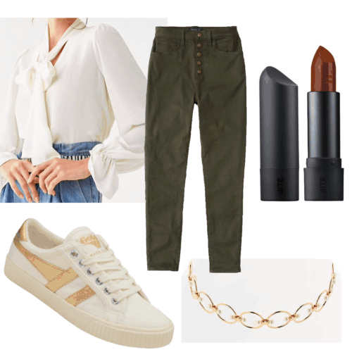 Norman Fucking Rockwell! inspired outfit set