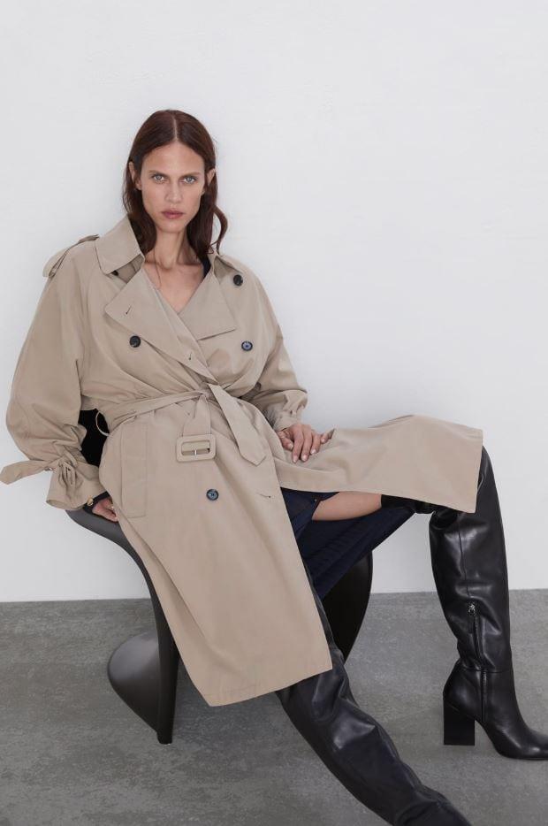 Korean fashion 101: Trench coat from Zara inspired by Korean style