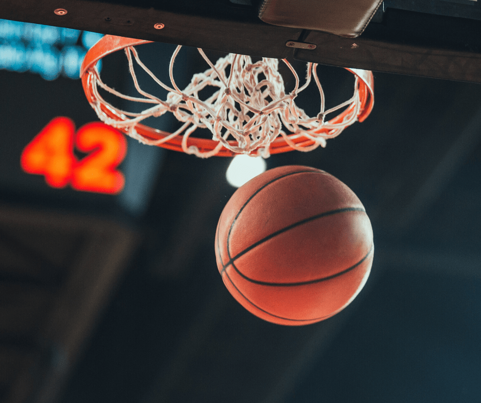 Basketball - tips for beating the winter blues- go to a sports game on campus