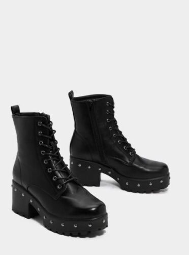 Chunky and edgy boots from Nasty Gal