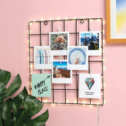 Best gift ideas for cancer zodiac sign - light up photo grid