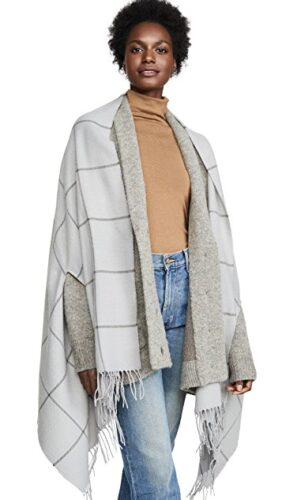 Winter 2019 trends - check cape from Madewell