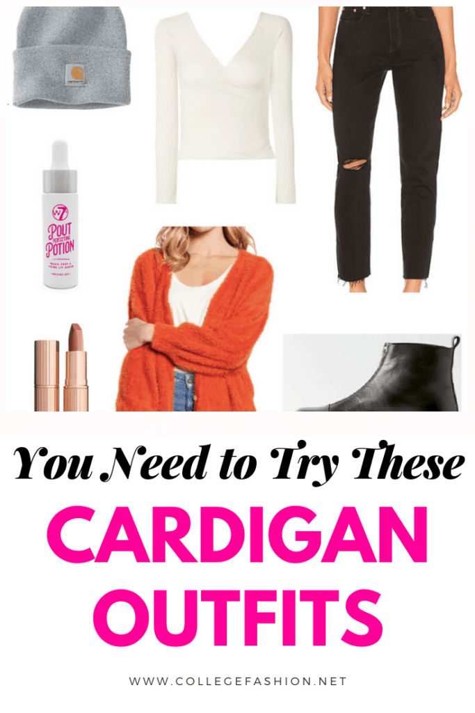 You need to try these cozy and stylish cardigan outfits ideas for fall and winter
