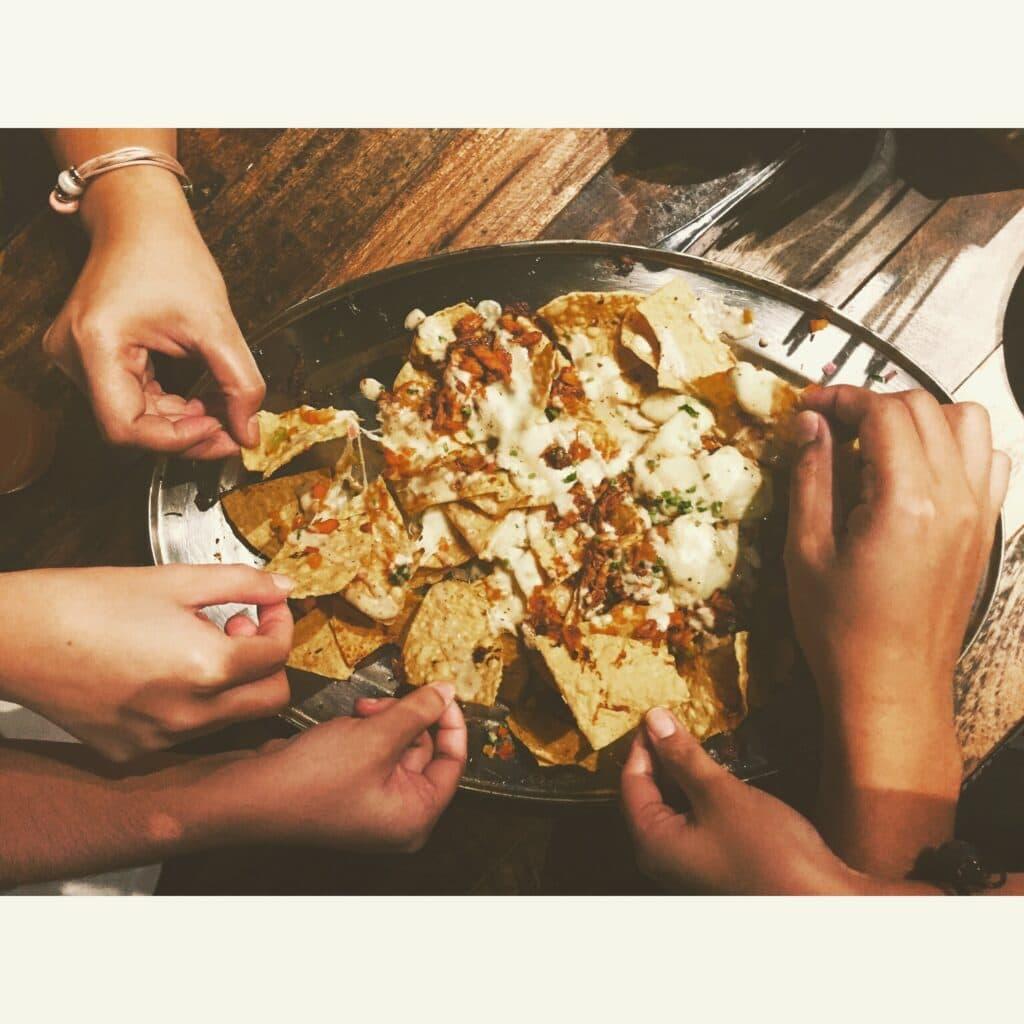 College birthday party ideas - Stock photo of nachos