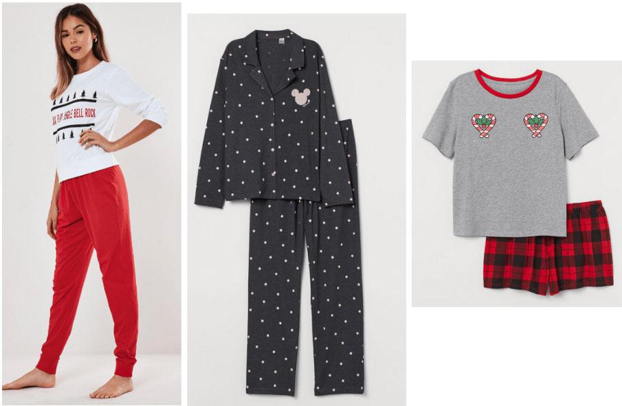 Cozy winter loungewear - holiday pajamas