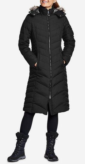 Black jacket from Eddie Bauer