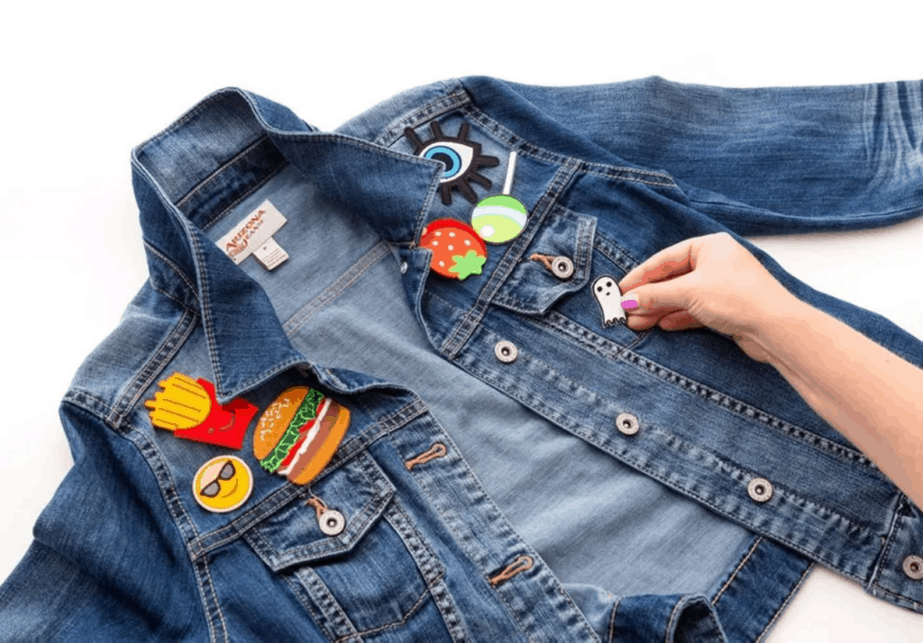 Personalized gift ideas - jean jacket with patches