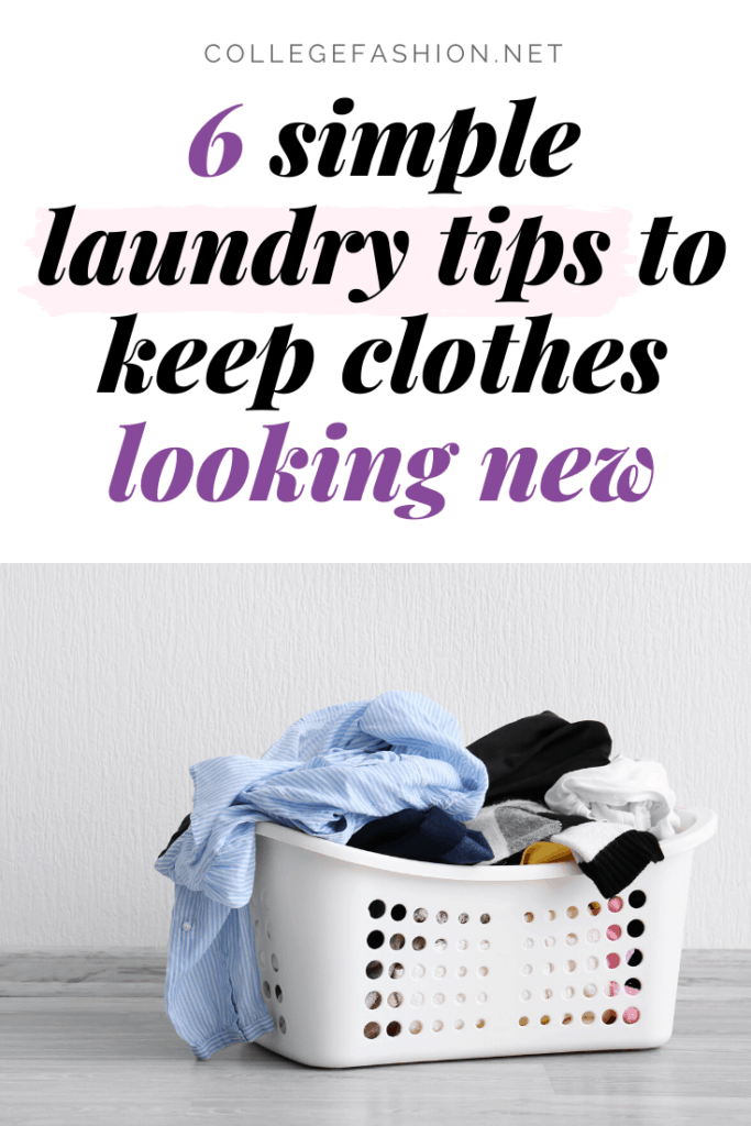 How to keep clothes looking new - 6 simple laundry tips to keep clothes looking new