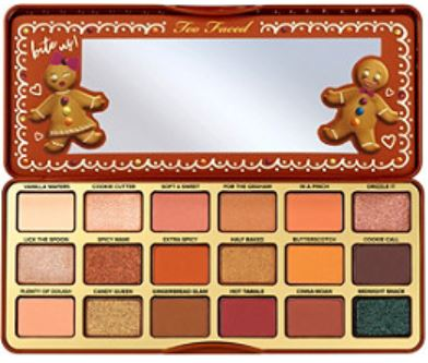 Leo gift idea - Too Faced Gingerbread palette