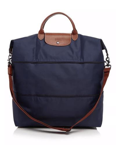 Longchamp expandable weekender