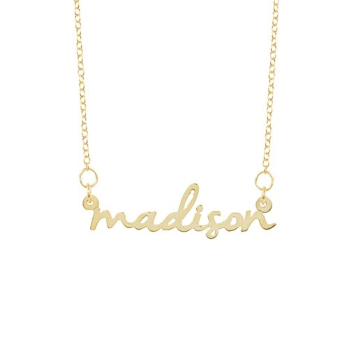 Wish list suggestions - Personalized necklace from Brook & York