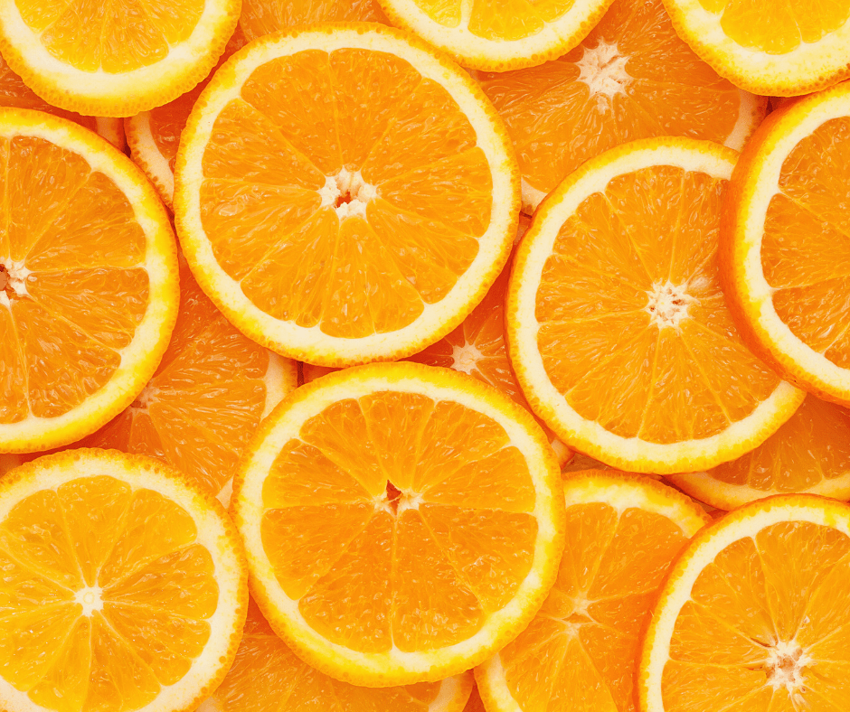 Oranges - tips on how to beat the winter blues