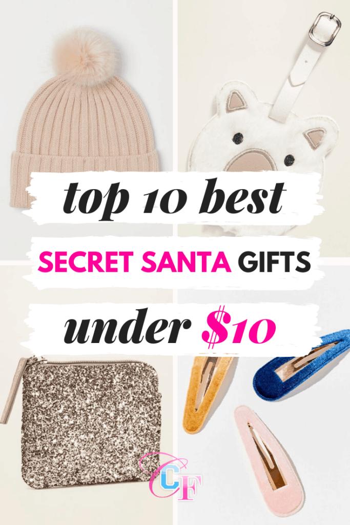 Best secret santa gifts under $10 for 2019
