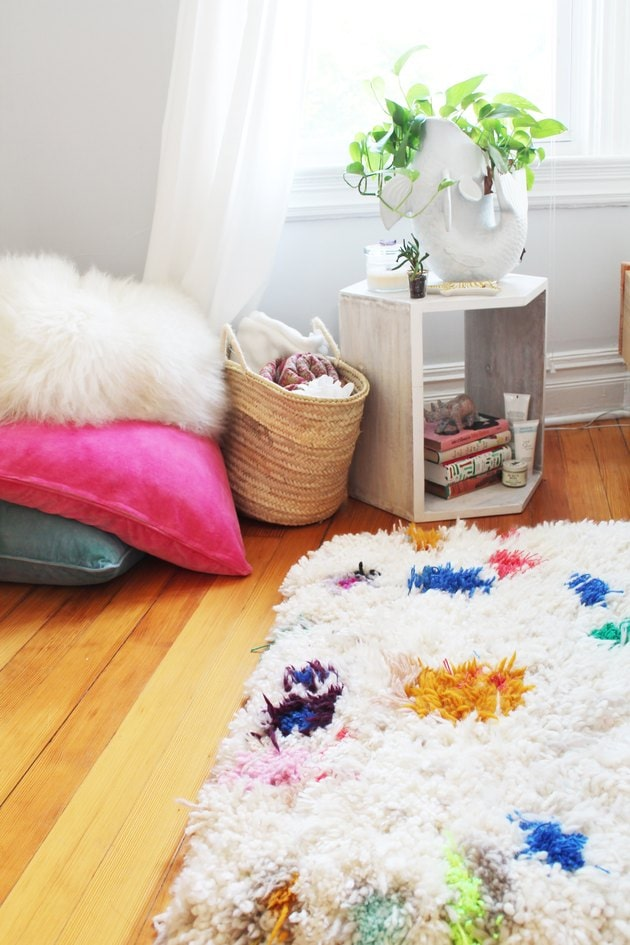 DIY rug tutorial from eHow