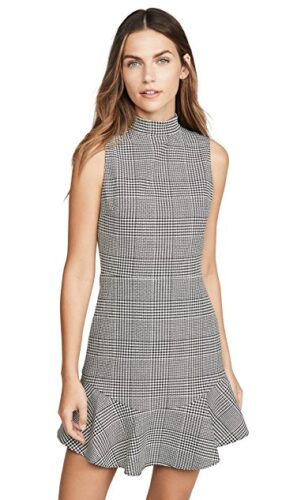 Alice and Olivia check dress