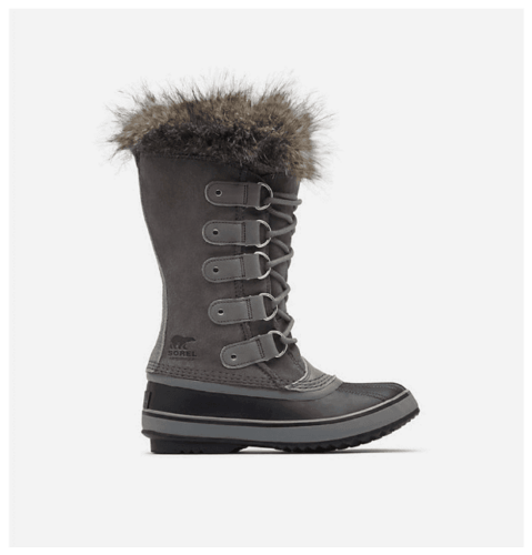 Cute snow boots: Sorel Joan of Arctic™ Boot in Quarry/Black