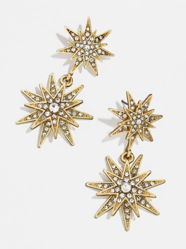 Star statement earrings from Baublebar