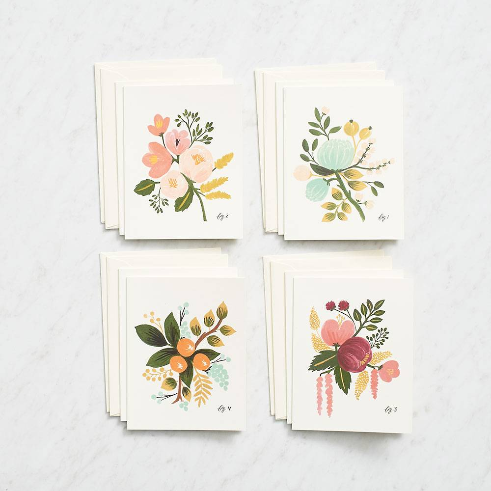 Stationery cards from Paper Source