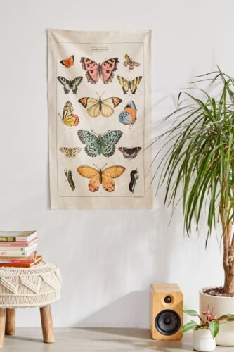 Best gifts for Taurus - butterfly tapestry