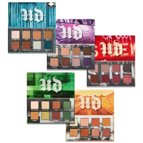 November 2019 makeup releases - Urban Decay On The Run Mini Eyeshadow Sets