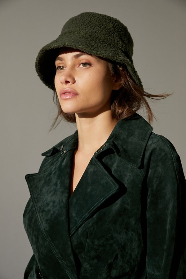 Fur bucket hat from Urban Outfitters