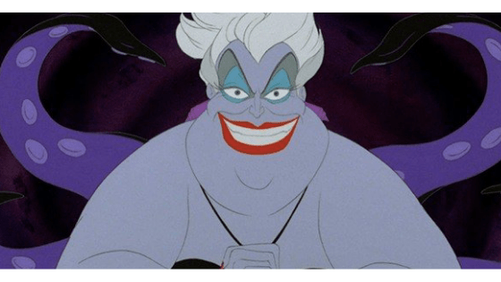 Ursula from Disney's The Little Mermaid