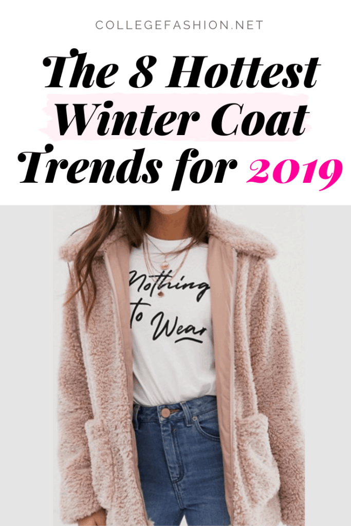 Winter coat trends 2019 - the hottest styles you need to know about