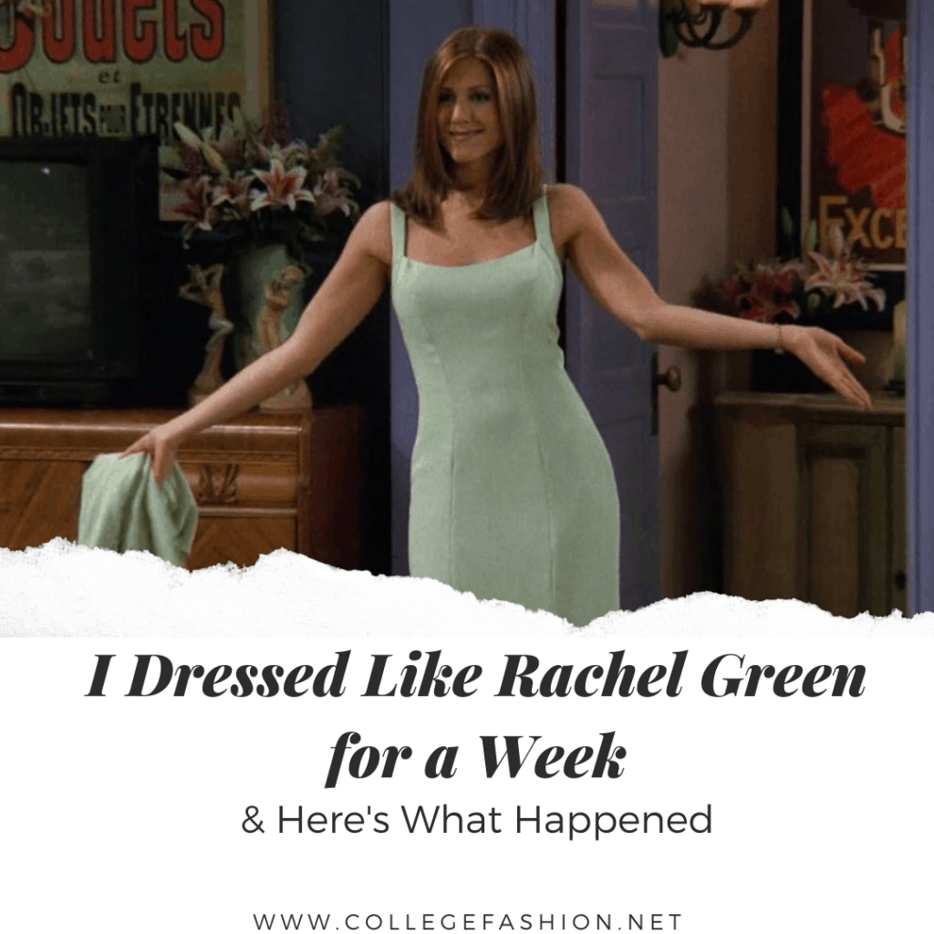 I Dressed Like Rachel Green Top Image
