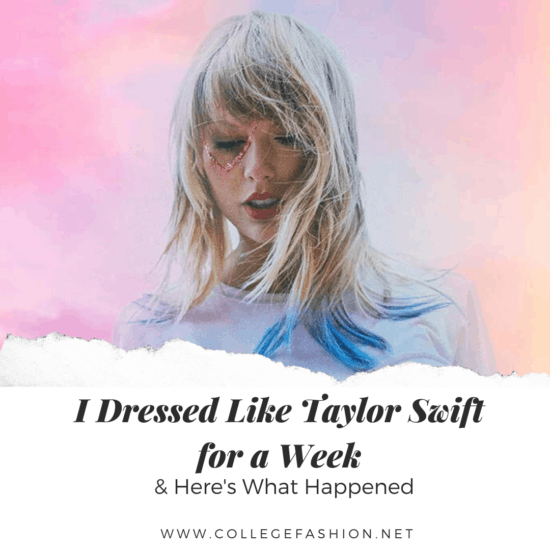 I dressed like Taylor Swiftop Image