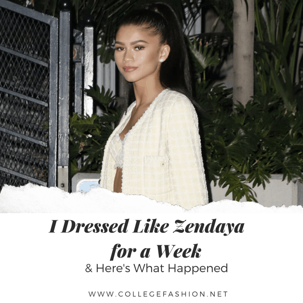I dressed like Zendaya for a week and here's what happened