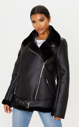 2020 fashion trends guide - leather aviator jacket