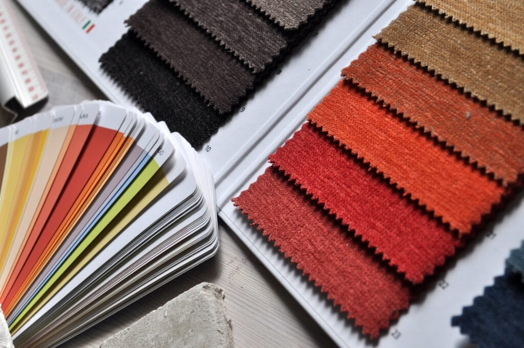 Stock photo of color swatches - fashion goals