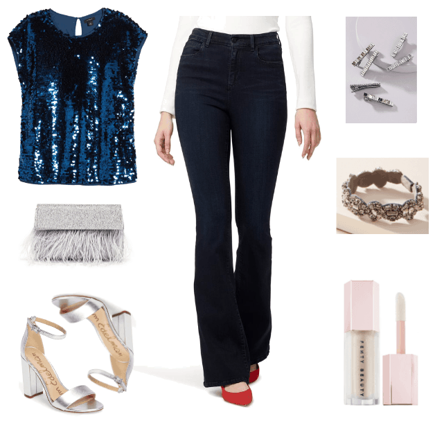 These Three Outfits Prove That You Should Wear Jeans to All of Your Holiday Parties | Outfit #3